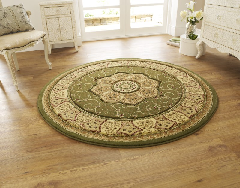 Hatton Rug Green