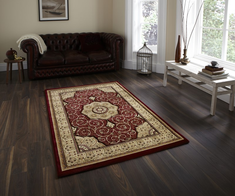 Hatton Rug Red