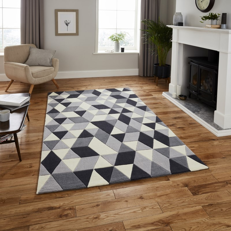 High Gate Rug Grey