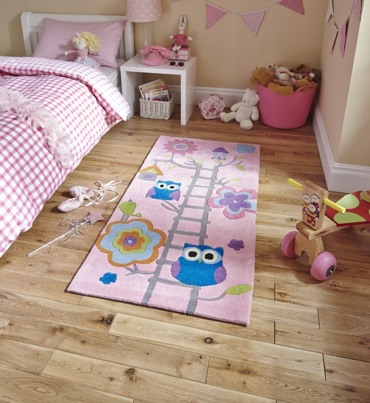 High Gate Kids Rug Pink