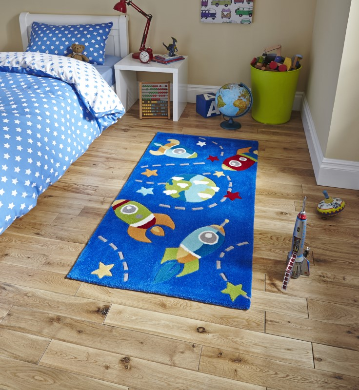 High Gate Kids Rug Blue