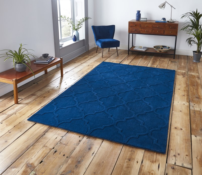 High Gate Rug Navy