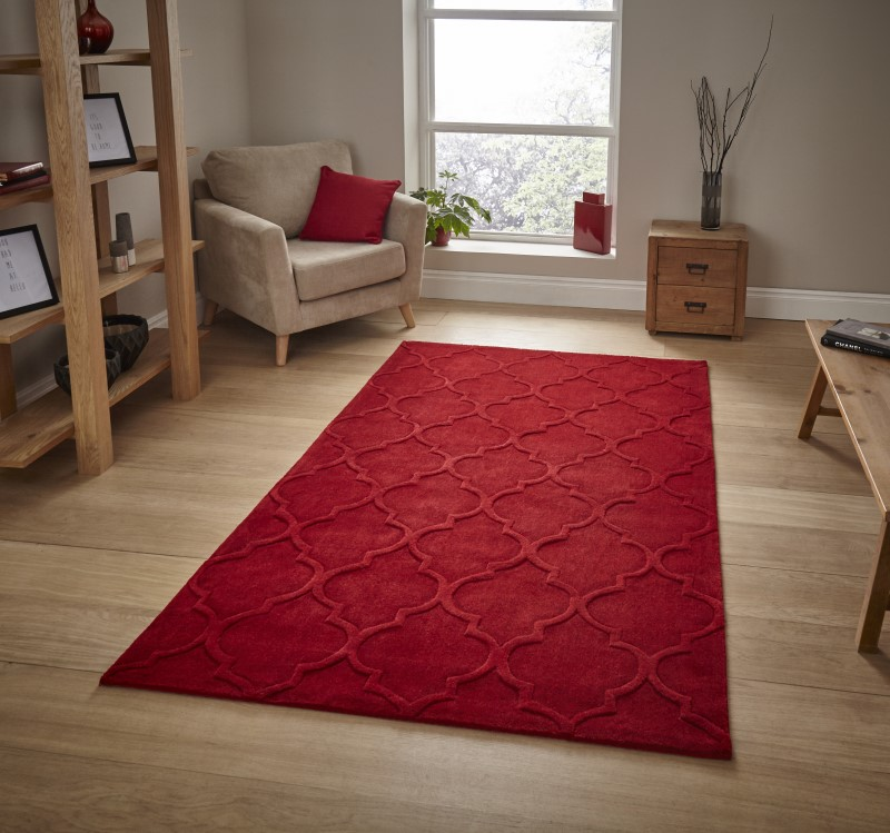 High Gate Rug Red