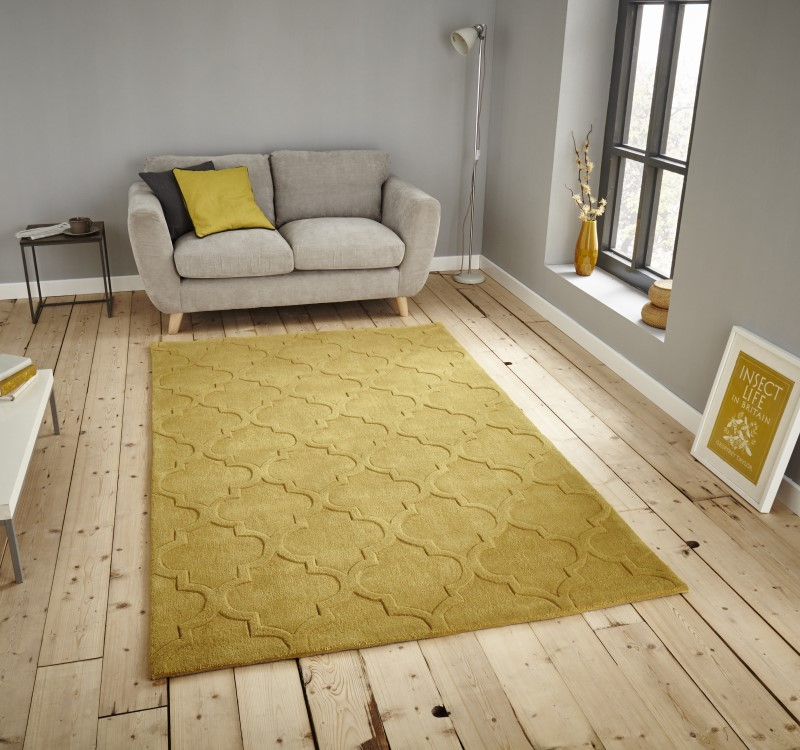 High Gate Rug Yellow