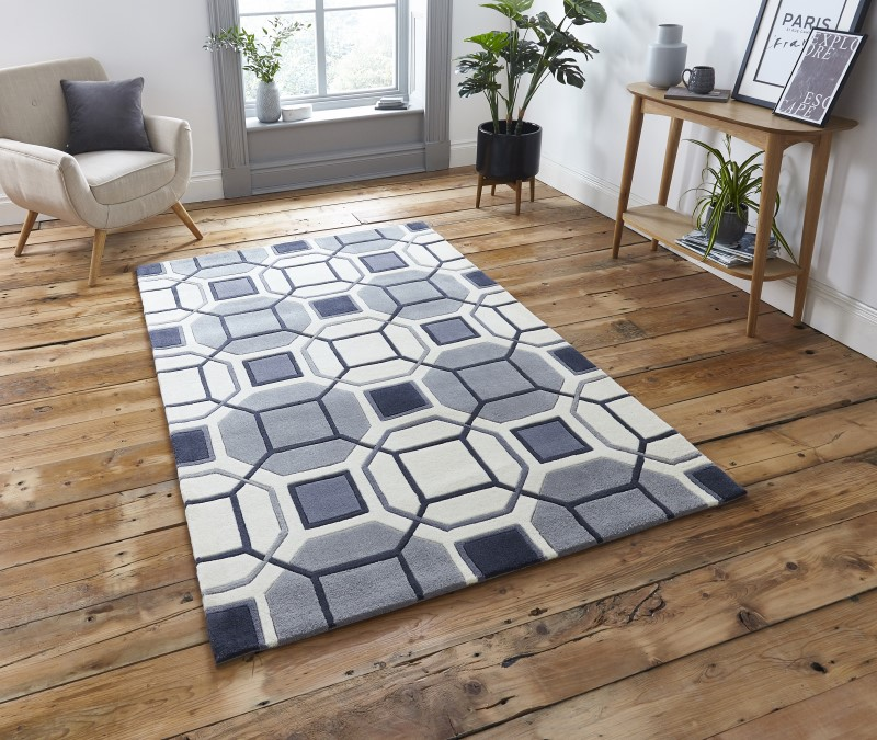 High Gate Rug Ivory/Grey
