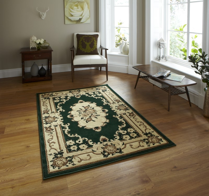 Maida Rug Dark Green