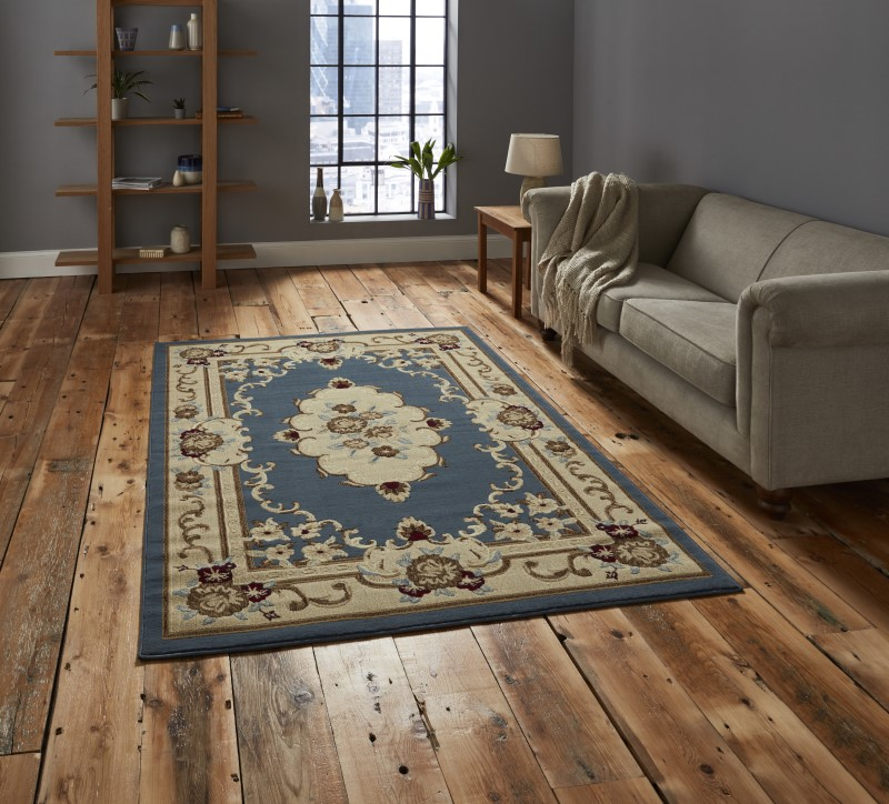 Maida Rug Light Blue