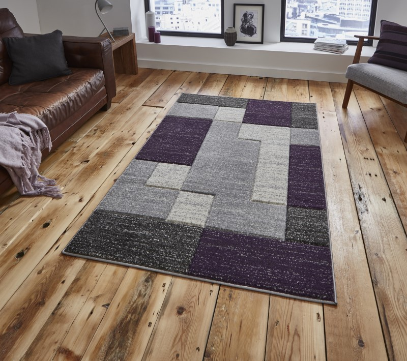 Mansion Rug Grey/Lilac