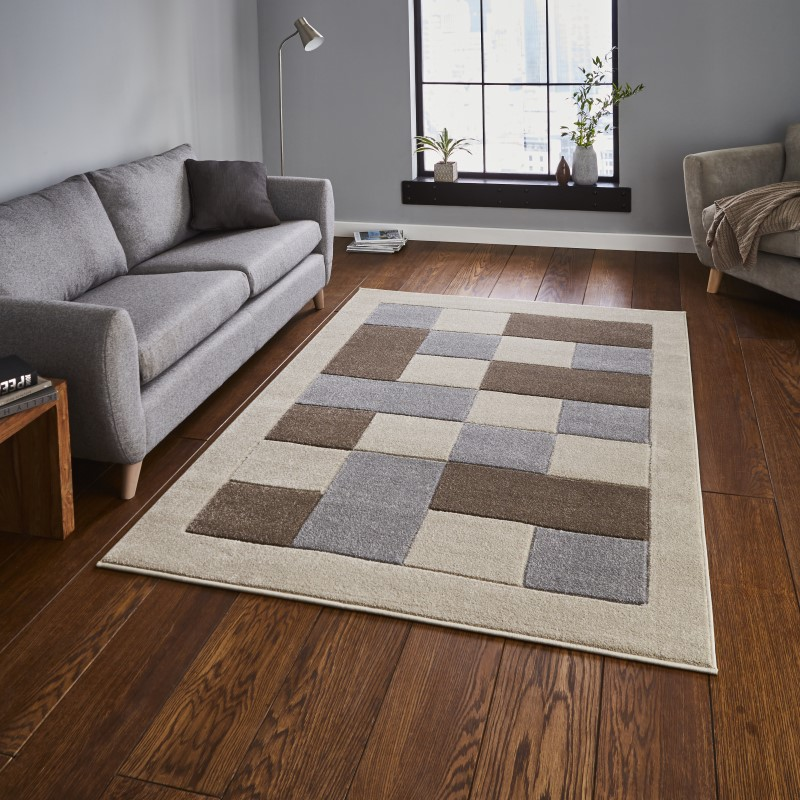 Mansion Rug Beige/Grey