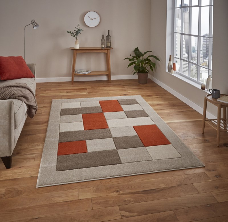 Mansion Rug Beige/Terra