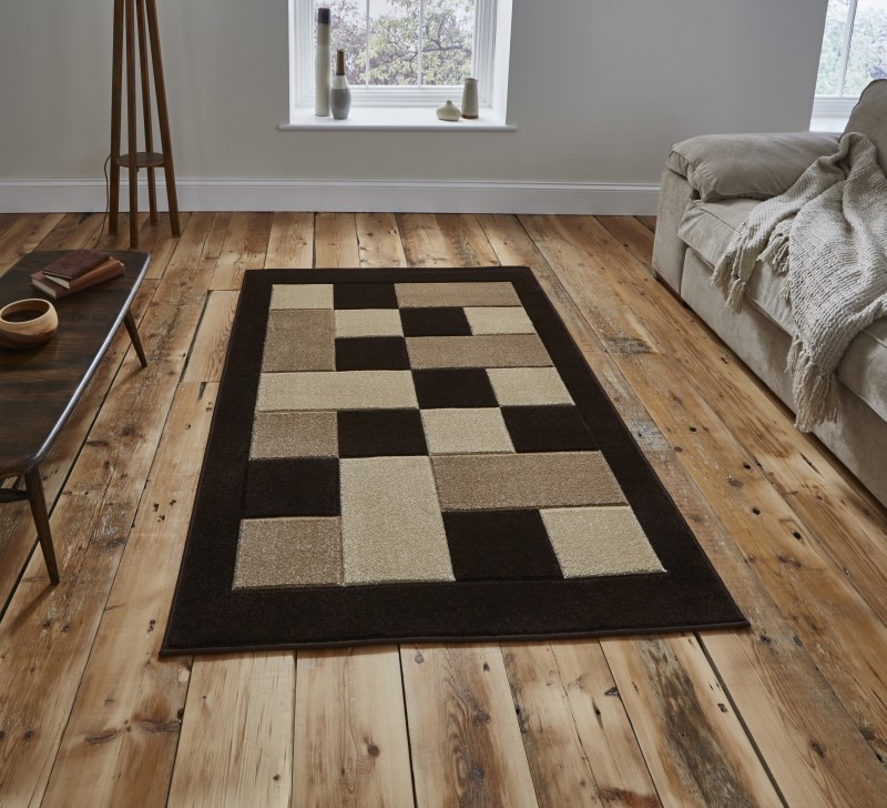 Mansion Rug Brown/Beige