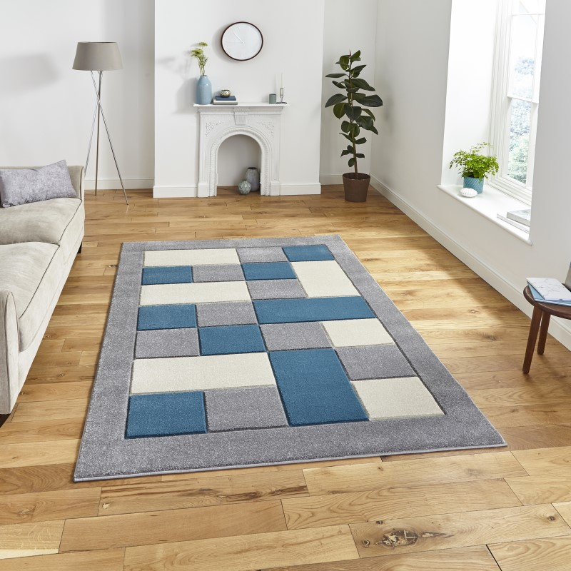Mansion Rug Grey/Blue